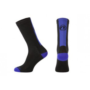 Skarpetki ACCENT Stripe Long czarny/niebieski
