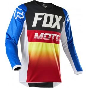 Bluza Fox 180 Fyce Blue/red M