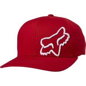 Czapka z daszkiem FOX Flex 45 Flexfit czerwony