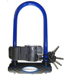 Zapięcie rowerowe MASTERLOCK 8195 U-LOCK 13mm 110mm 210mm niebieskie