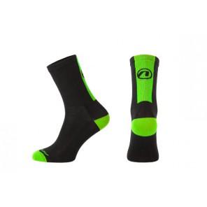 Skarpetki ACCENT Stripe czarny/zielony