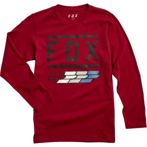 Koszulka Fox Junior Z Długim Rękawem Fox Super Cardinal