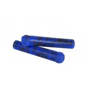 Chwyty kierownicy Block 155mm, space blue/czarne