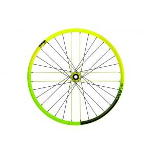 """NS Bikes Koło tylne Enigma Dynamal 27.5"""" Rotary Cassette 150/157x12 Limonkowe"""