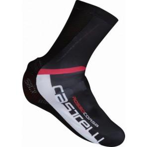 Castelli Pokrowce na buty Aero Race, czarno-biały, rozmiar M