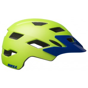 Kask juniorski BELL SIDETRACK matte bright green blue roz. Uniwersalny (50–57 cm) (NEW)