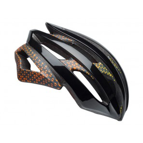 Kask szosowy BELL STRATUS INTEGRATED MIPS circuit matte gloss black yellow orange roz. M (55-59 cm) (NEW)