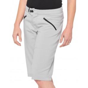Szorty damskie 100% RIDECAMP Womens Shorts grey