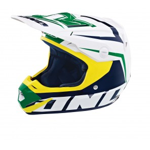 ATOM ARRAY HELMET KELLY GREEN/NAVY M