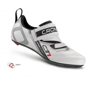 CRONO buty triatlonowe CT-1 białe 46 nylon