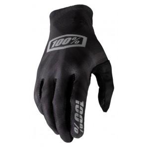 Rękawiczki 100% CELIUM Glove black silver roz. M (długość dłoni 187-193 mm) (NEW)