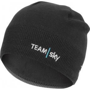 Czapeczka kolarska GPM BEANIE, Team Sky, czarna, rozmiar UNI