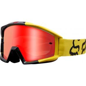 Gogle Fox Main Mastar Yellow - Szyba Orange Spark (1 Szyba W Zestawie)