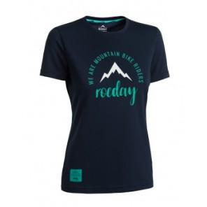 Koszulka ROCDAY Women Monty niebieski