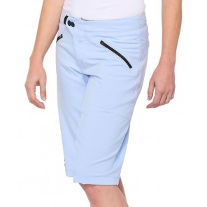 Szorty damskie 100% RIDECAMP Womens Shorts powder blue