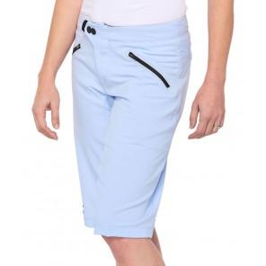 Szorty damskie 100% RIDECAMP Womens Shorts powder blue