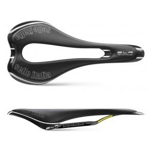 Siodło SELLE ITALIA SLR TEKNO FLOW S (id match - S3) carbon/keramic 7x9, carbon/fibra-tek, 110g carbon (NEW)
