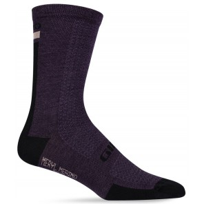 Skarpety GIRO HRC TEAM dusty purple white roz. M (40-42) (NEW) (GIRO STUDIO 2)