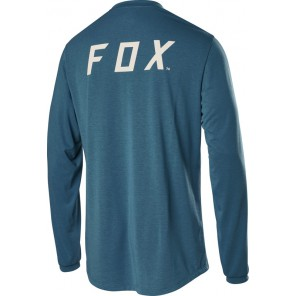 Koszulka Rowerowa Fox Z Długim Rękawem Ranger Dr Fox Aqua