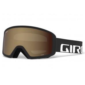 Gogle zimowe GIRO SCAN BASIC BLACK WORDMARK (szyba AMBER ROSE 40% S2) (DWZ)