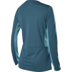 Koszulka Rowerowa Fox Lady Z Długim Rękawem Ranger Dr Maui Blue