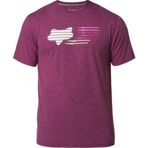 T-shirt Fox Lightspeed Head Tech Heather Purple