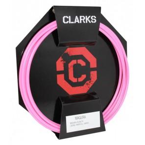 Przewód hamulca hydraulicznego CLARK'S MAGURA Przód + Tył różowy
