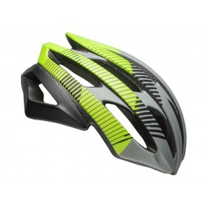 Kask szosowy BELL STRATUS INTEGRATED MIPS bluster matte dark gray black lemon roz. M (55-59 cm) (NEW)