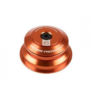 """Accent Stery pół-zintegrowane taper HSI-SPRO 1-1/8""""-1.5"""" ZS44/ZS56, łożyska maszynowe, pomarańczowe"""