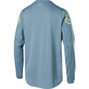 Koszulka Rowerowa Fox Z Długim Rękawem Flexair Fine Line Light Blue