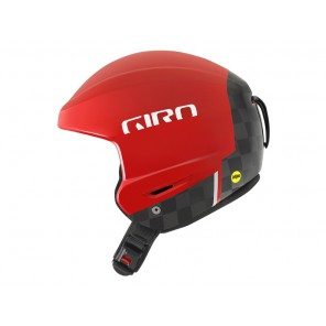Kask zimowy GIRO AVANCE MIPS matte red carbon roz. M (55.5-57 cm)