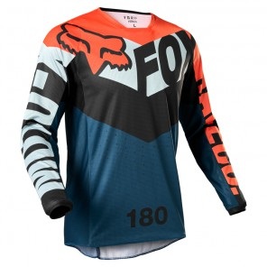 Jersey FOX 180 Trice grey/orange