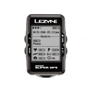 Komputer rowerowy LEZYNE Super GPS