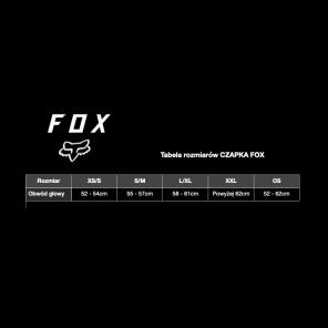 Czapka z daszkiem FOX Flex 45 camo