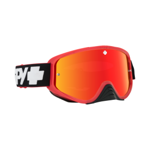 Spy Gogle Woot Race Slice Red Smoke with Red Spectra + Clear AFP