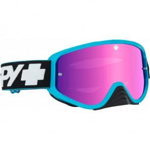 Spy Gogle Woot Race Slice Blue Smoke Pink Spectra + Clear AFP