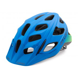 Giro 2018 Hex kask matte blue lime
