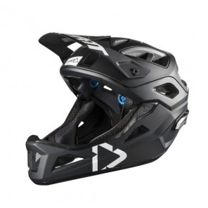 Leatt DBX 3.0 Enduro Black White kask