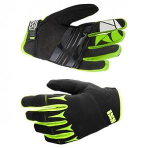 IXS BC-X.2.2 rękawiczki czarno-zielone-L