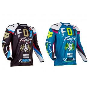 Fox 2017 360 Rohr jersey