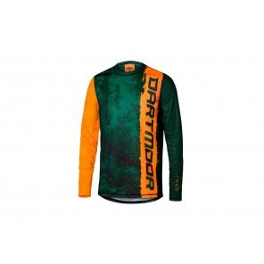 Dartmoor 2018 Koszulka techniczna Junior S pomaranczowo-zielony