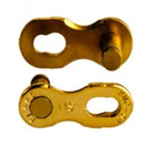 KMC CL-555 spinka do łańcucha złota