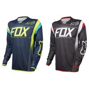 Fox 2017 Flexair DH Kroma LS jersey-granatowy-XL