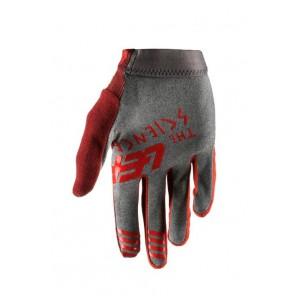 Leatt DBX 1.0 GripR Ruby rękawiczki