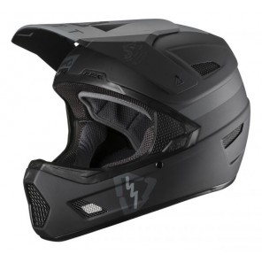 Leatt DBX 3.0 DH V19.2 Black kask