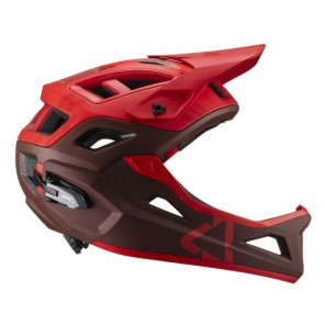 Leatt DBX 3.0 Enduro V19.1 Ruby kask