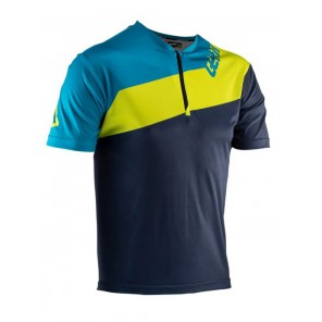 Leatt DBX 1.0 HALF-ZIP Ink jersey