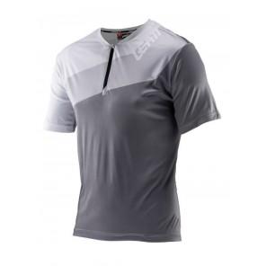 Leatt DBX 1.0 HALF-ZIP Slate jersey