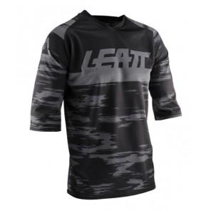 Leatt DBX 3.0 Black jersey 3/4