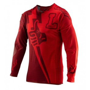 Leatt DBX 4.0 UltraWeld Stadium Ruby jersey